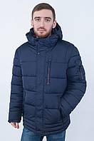 Синяя мужская зимняя куртка Black Wolf 8166, размер 48, 50, 52, 54, 56