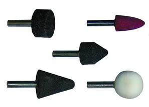 Камни шлифовальные для дрелей
