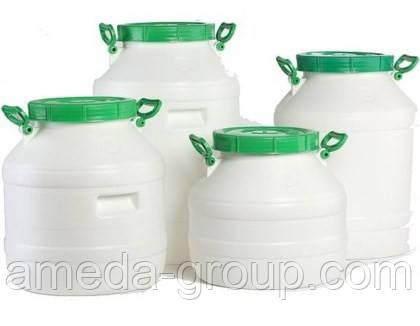 Бочка пластиковая пищевая 40 л, фото 2