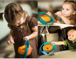 Тарелка-неваляшка,Тарелка-непроливайка   Universal Gyro Bowl