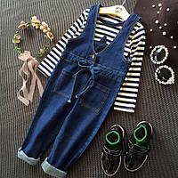 Детский джинсовый комбинезон 7 (на рост 90-100 см узкий)