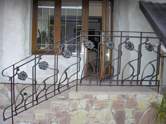 Перила кованые Амос, фото 2