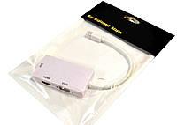 Конвертер с Mini DisplayPort на HDMI,VGA,DVI