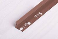 Угол ПВХ внутренний для плитки 10мм