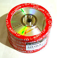 Диск CD-R 50 Ridata, 700Mb, 52x, Bulk Box