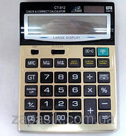 Калькулятор CALCULATOR 912 с большими цифрами