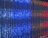 СВЕТОДИОДНАЯ ГИРЛЯНДА ШТОРА НОВОГОДНЯЯ ЗАНАВЕСКА 500 LED ЦВЕТА В АССОРТИМЕНТЕ