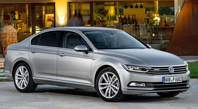 Диски и шины на Volkswagen Passat B 8