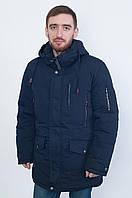 Синяя мужская зимняя куртка Black Wolf 8128, размер 48, 50, 52, 54, 56