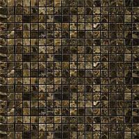 Мраморная мозаика полированная Veromar Dark Emperador
