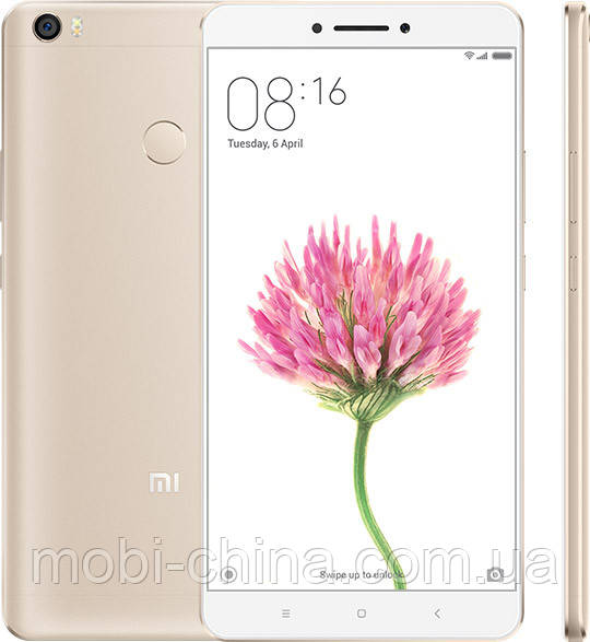"Смартфон Xiaomi Mi Max 6.44"" 32Gb Hexa Core Gold"