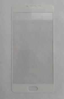 Защитное стекло Meizu U20 с белой рамкой