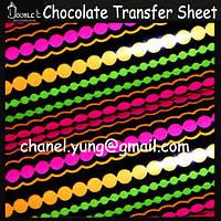 Точки красочные трансфер для шоколада