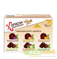 Ассорти шоколадных конфет Здоровье