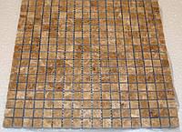 Мозаика из мрамора полированная Veromar Ligt Emperador