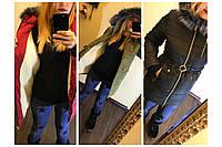 Женская зимняя куртка, размер 48-50, 52-54. В наличии 3 цвета