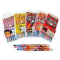 Мел ВОСКОВЫЙ цветной-карандаш 8 штук