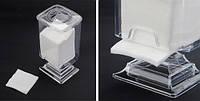 Контейнер для безворсовых салфеток, ватных дисков (пластиковый)