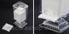Контейнер-підставка для безворсовий серветок, ватяних дисків (пластиковий)