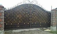Ворота кованые  Адреналин