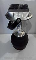 Кемпинговый фонарь FQ-766, зарядка от солнца, сети 220В, автомобиля 12В, динамо-машины, 15 LED, кемпинг лампа