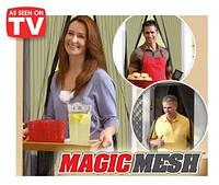 Магнитные шторы magic mesh москитная сетка на двери
