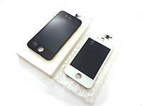 Модуль для iPhone 4S (дисплей + тачскрин), белый, оригинал (TianMa)