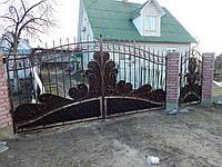Ворота кованые Акра, Акра плюс