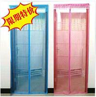 Противомоскитные магнитные шторы magic mesh цветные