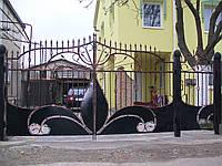 Ворота кованые Аня, Аня плюс