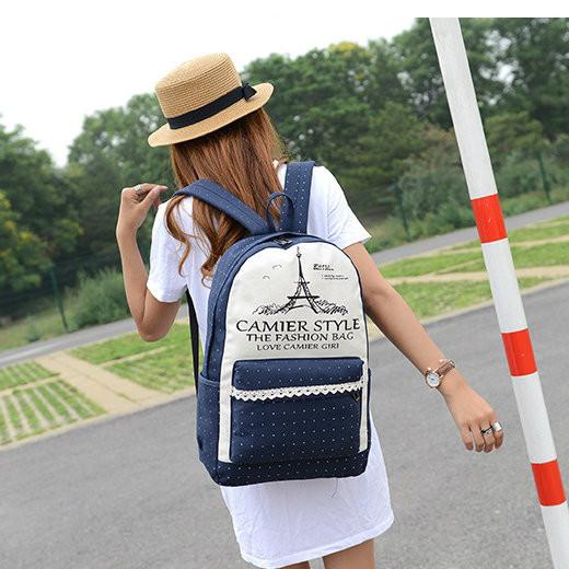 Рюкзак с Эйфелевой башней