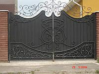 Ворота кованые Балет