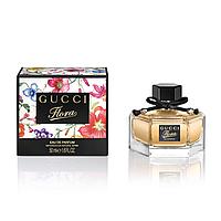 Женская туалетная вода Gucci Flora by Gucci Eau de Parfum  (75 мл) ( коробка в цветочки )