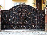 Ворота кованые  Балтика