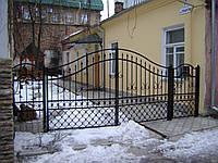 Ворота кованые Барни