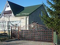 Ворота кованые Барон, Барон плюс