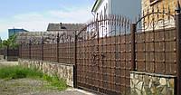 Ворота кованые  Бастион