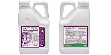 Фунгицид Аккорд - гидроксид меди 150 г/л +сера 300 г/л, для яблони и виноградников