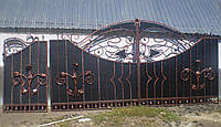 Ворота кованые Бетман