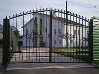 Ворота кованые Борисполь, Борисполь плюс