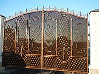Ворота кованые Бум
