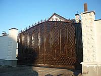 Ворота кованые Бум-3