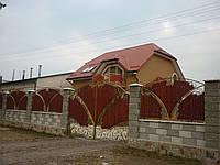 Ворота кованые Веста без дерева