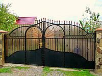 Ворота кованые Вика, Вика плюс