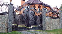Ворота кованые  Волинь