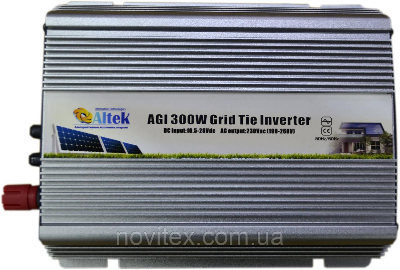 Инвертор Altek AGI-300W On-Grid (сетевой)
