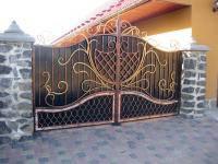 Ворота кованые Галант