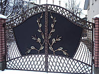 Ворота кованые Генерал, Генерал плюс