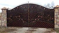 Ворота кованые Гриня