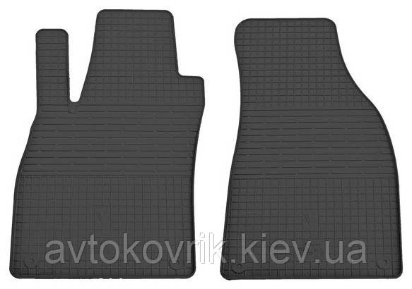 Резиновые передние коврики в салон Audi A4 (B6) 2000-2004 (STINGRAY)